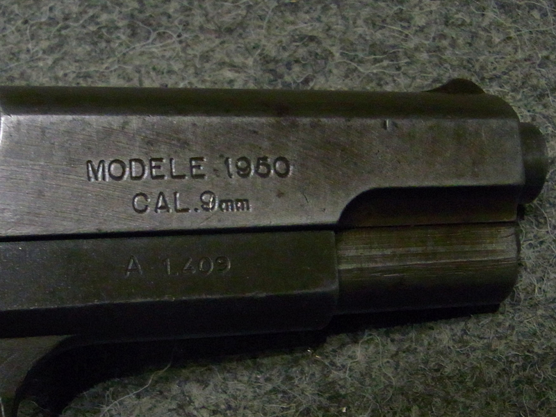 pistola MAC 50 calibro 9 x 21