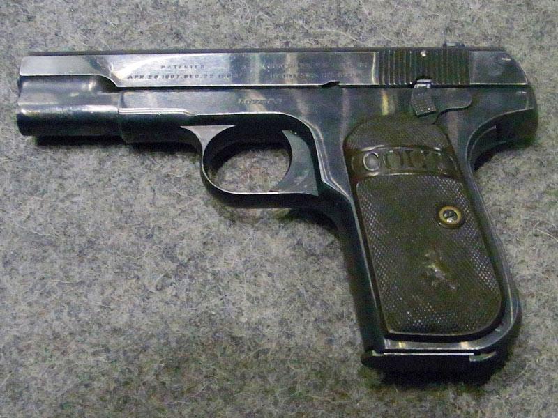 pistola Colt 1903 Hammerless calibro 7,65