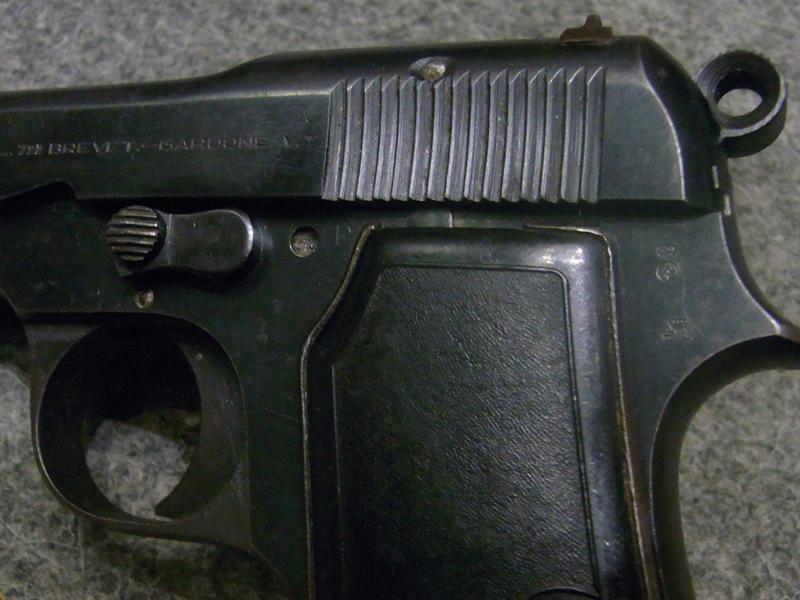 pistola Beretta 35 calibro 7,65
