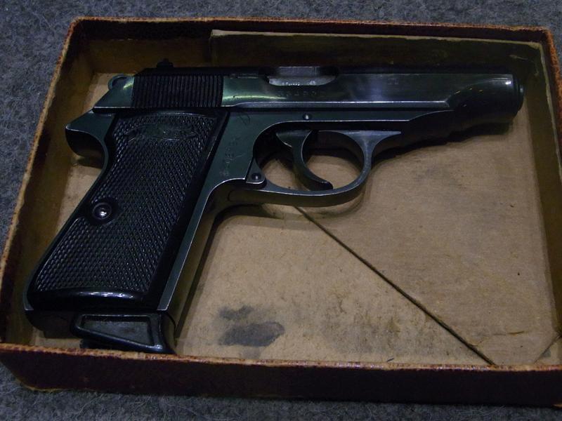 pistola Walther PP calibro 7,65
