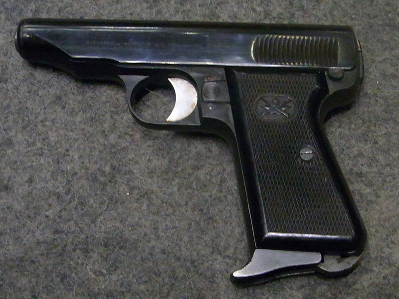 pistola Bernardelli 48 calibro 7,65