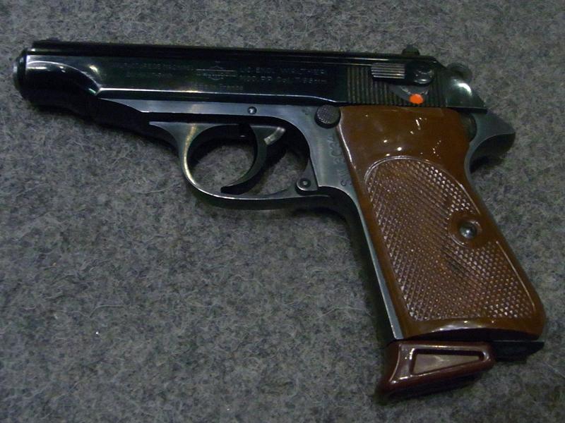 pistola Manurhin Walther PP calibro 7.65 ex Polizia