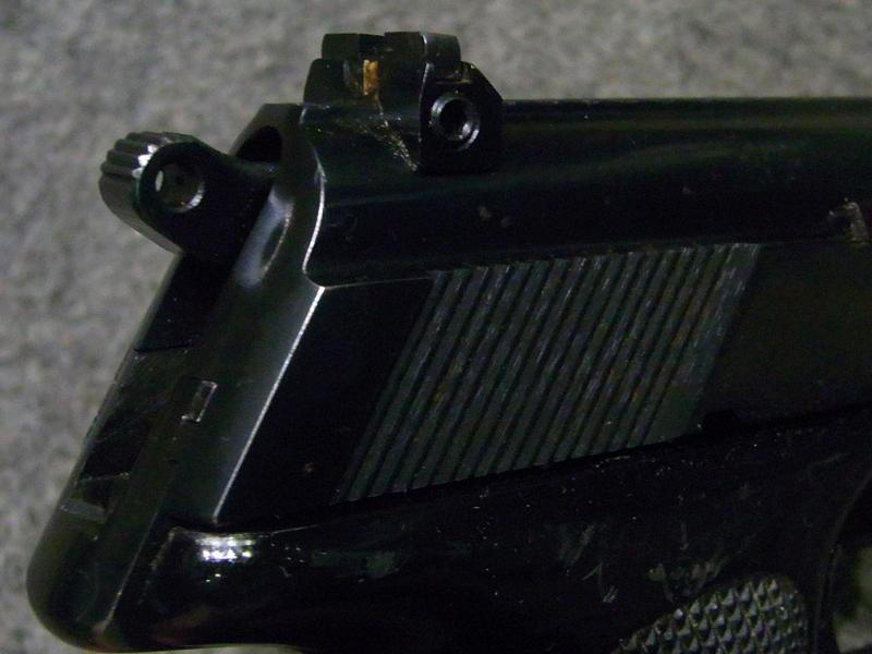 pistola Walther PP Super calibro 9 x 18