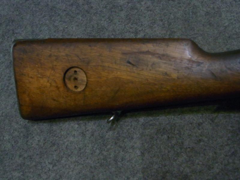 carabina Husqvarna C. Gustafs 96 calibro 6,5 x 55