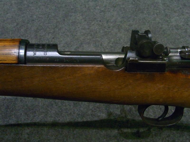 carabina Carl Gustafs M96 calibro 6,5 x 55 con diottra Faldt
