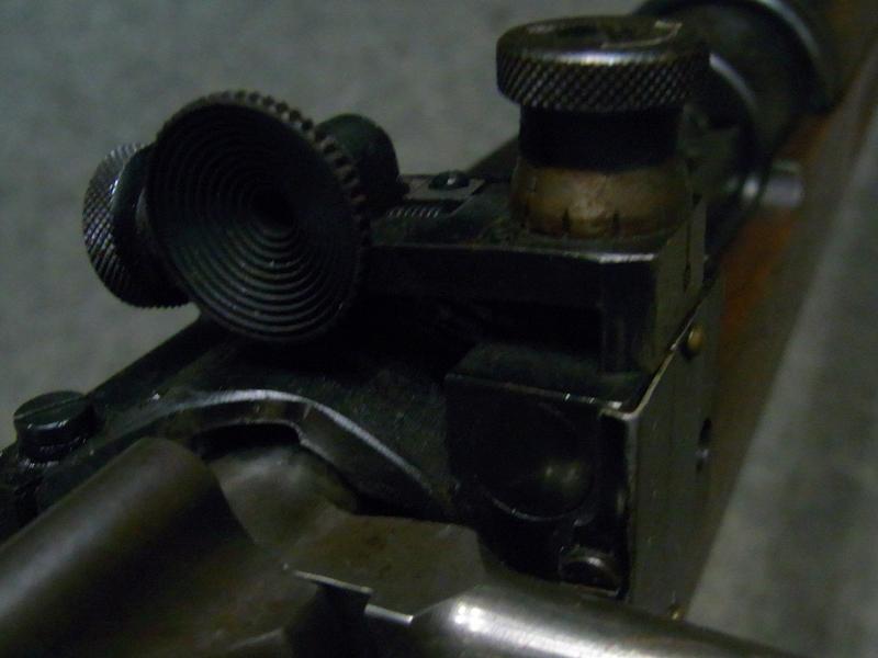 carabina Carl Gustafs M96 calibro 6,5 x 55 con diottra Lyman