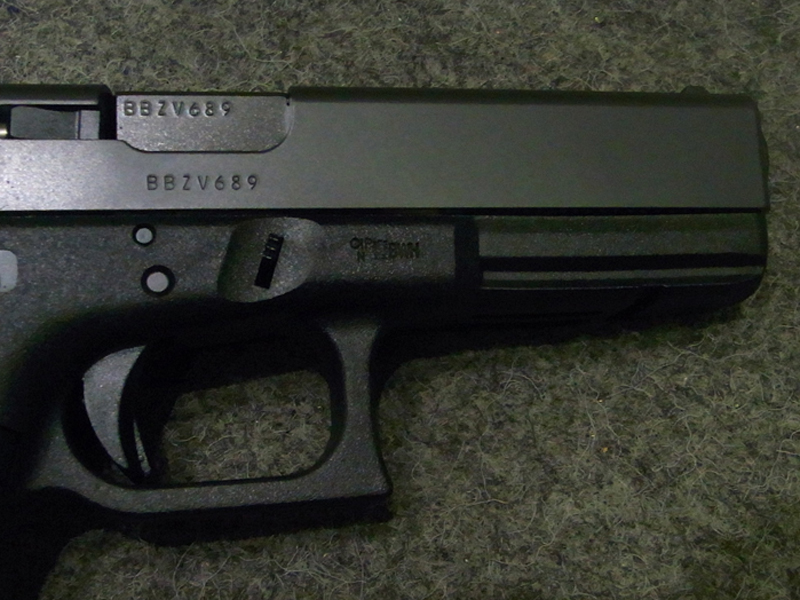 pistola Glock 17 Gen 3 calibro 9 x 21