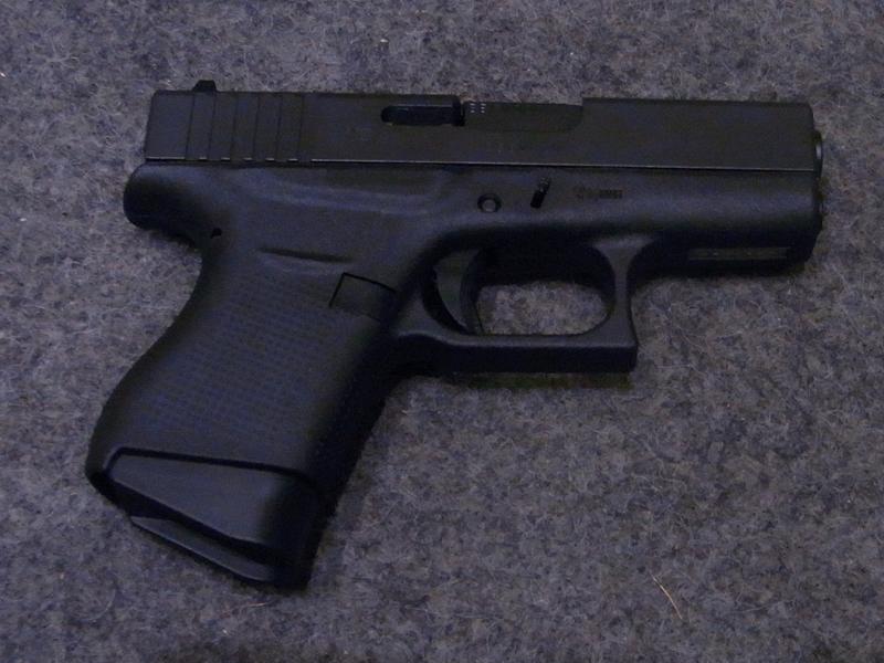 pistola Glock 43 calibro 9 x 21