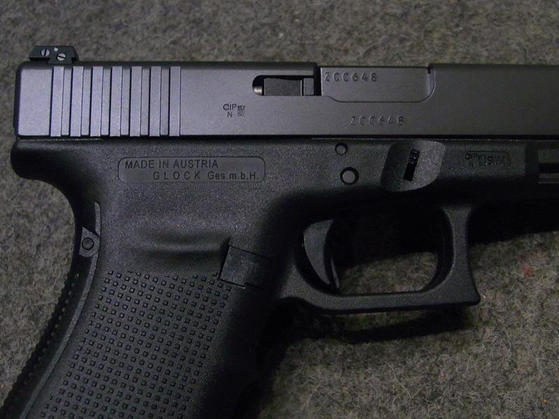 pistola sportiva Glock 41 Gen 4 calibro 45 acp