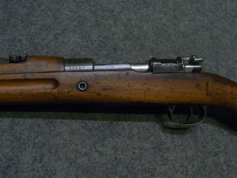 carabina C.Z. VZ 24 contratto sudamericano calibro 7 x 57