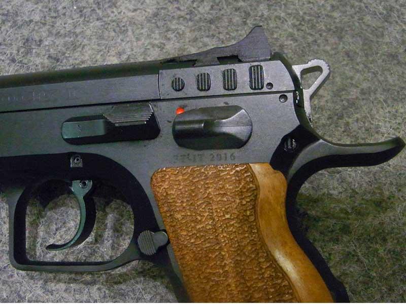 pistola Tanfoglio Stock I calibro 9 x 21