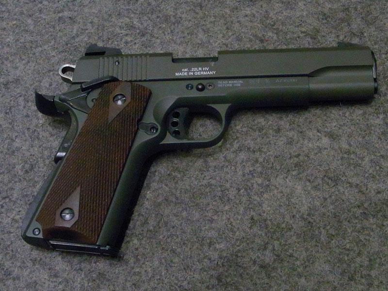 Armeria Frigerio Pistola Gsg 1911 Olive Calibro 22 Lr