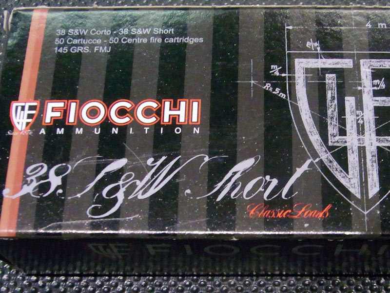 munizioni Fiocchi 38 S&W