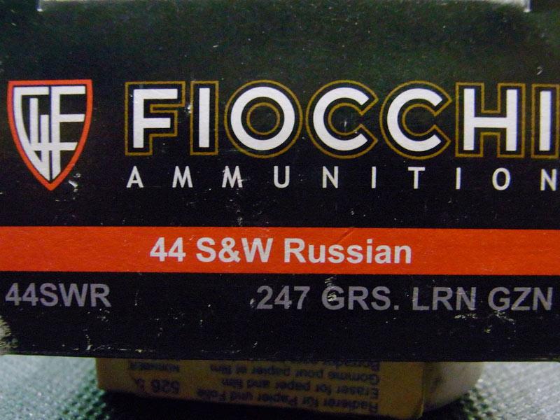 munizioni Fiocchi 44 S&W Russian