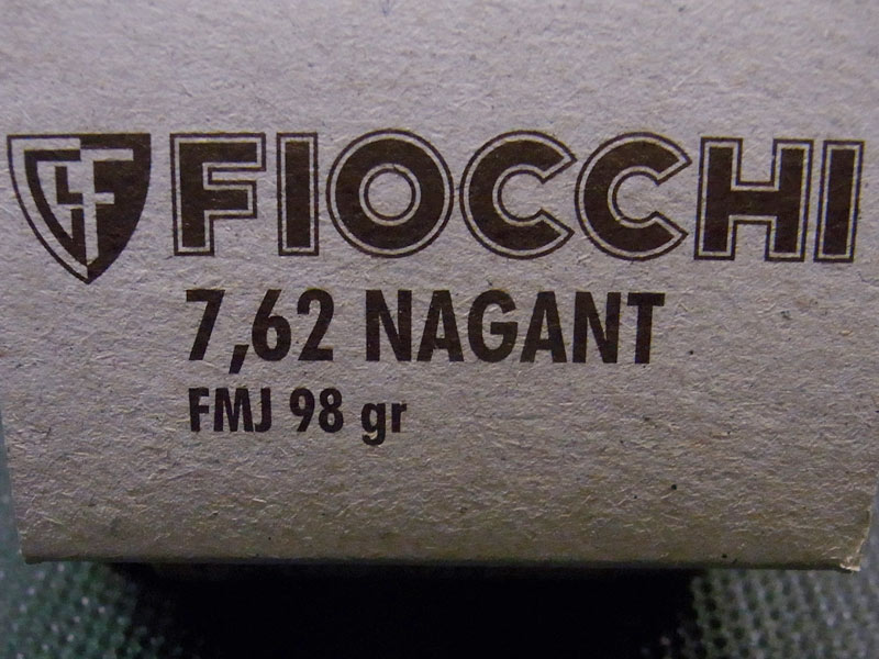 munizioni Fiocchi 7,62 nagant