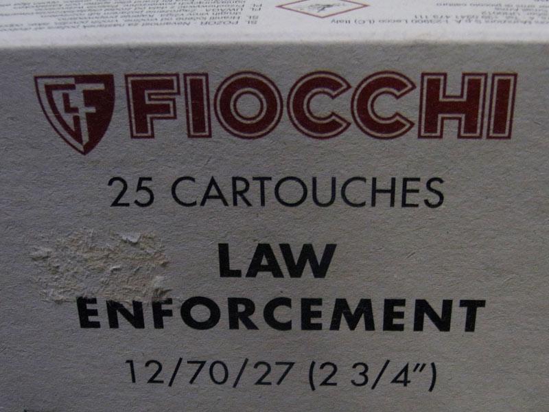 munizioni Fiocchi non letali palla gomma