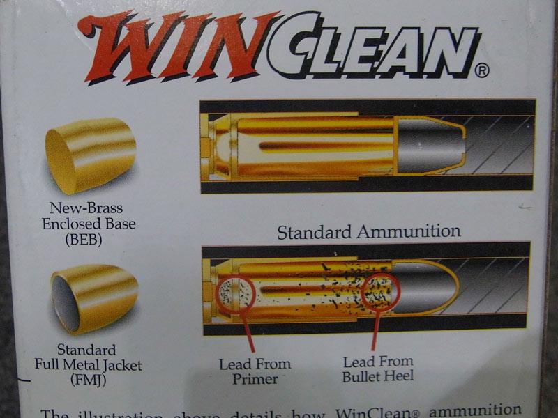 munizioni Winchester calibro 45 G.A.P.