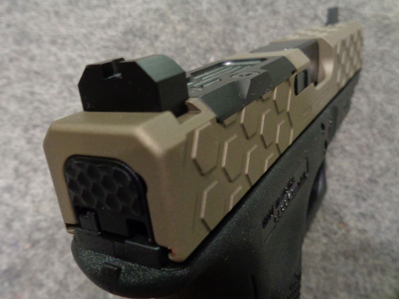 kit carrello custom Zev per Glock 19