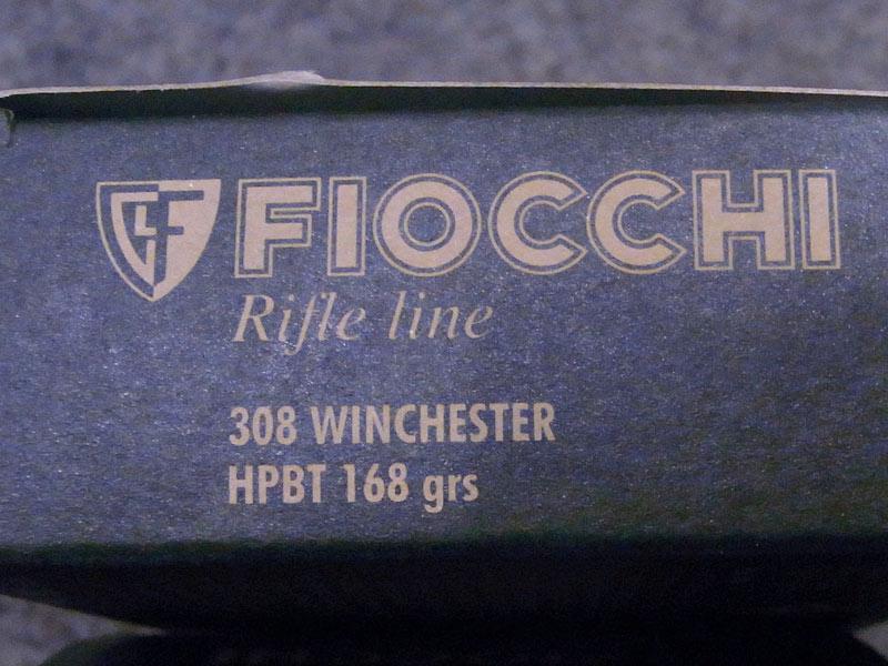 munizioni Fiocchi Exacta calibro 308 winchester