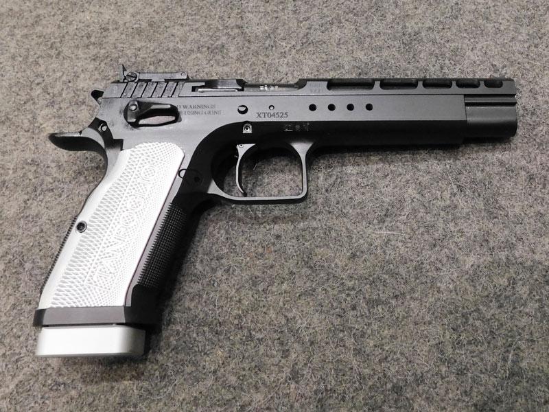 pistola Tanfoglio Gold Match Xtreme calibro 9 x 21