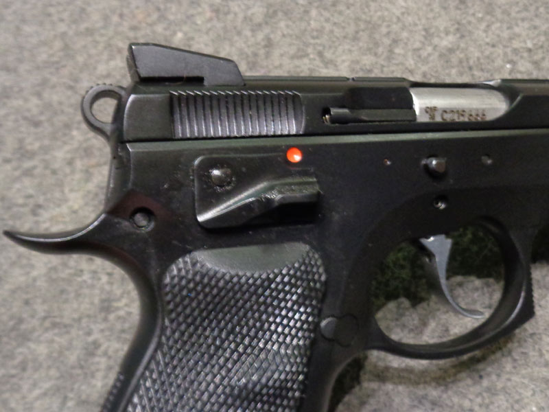 pistola C.Z. SP01 Shadow calibro 9 x 21