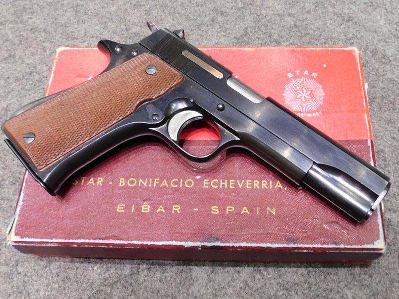 pistola Star US calibro 7,65 parabellum