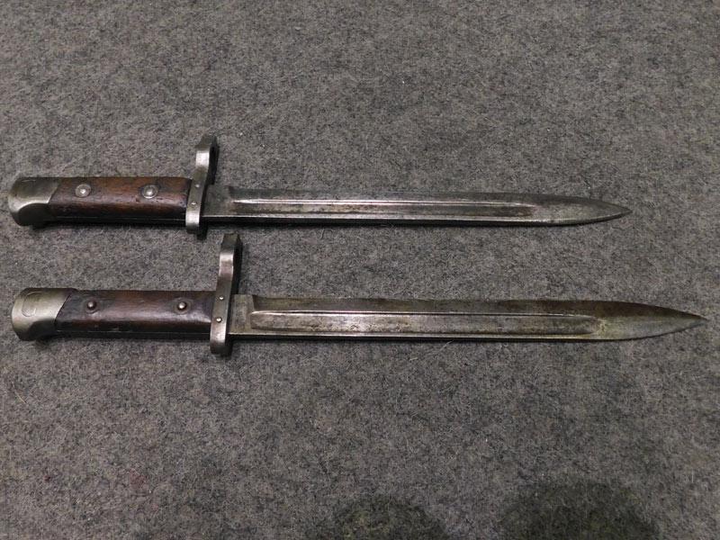 baionetta Steyr M95 con mirino