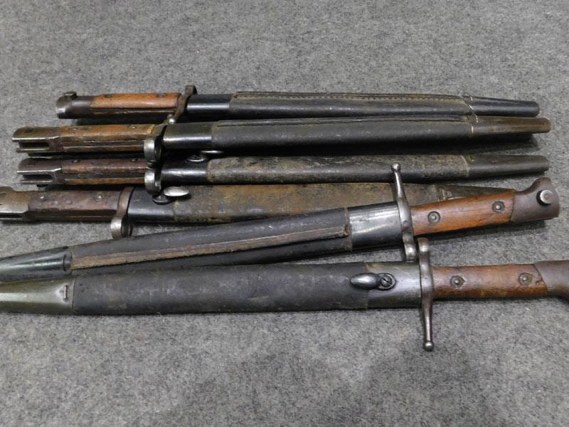 baionetta Carcano modificata Enfield