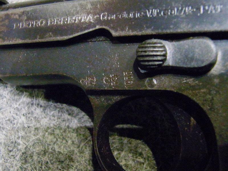 pistola Beretta 35 calibro 7.65
