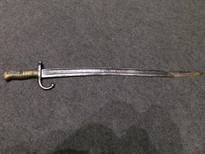 baionetta Chassepot 1866
