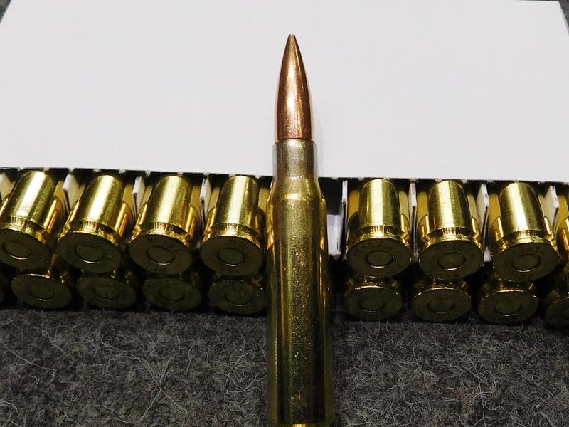munizioni 7,5 x 54 Mas