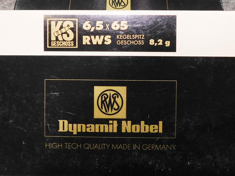 munizioni RWS 6,5 x 65