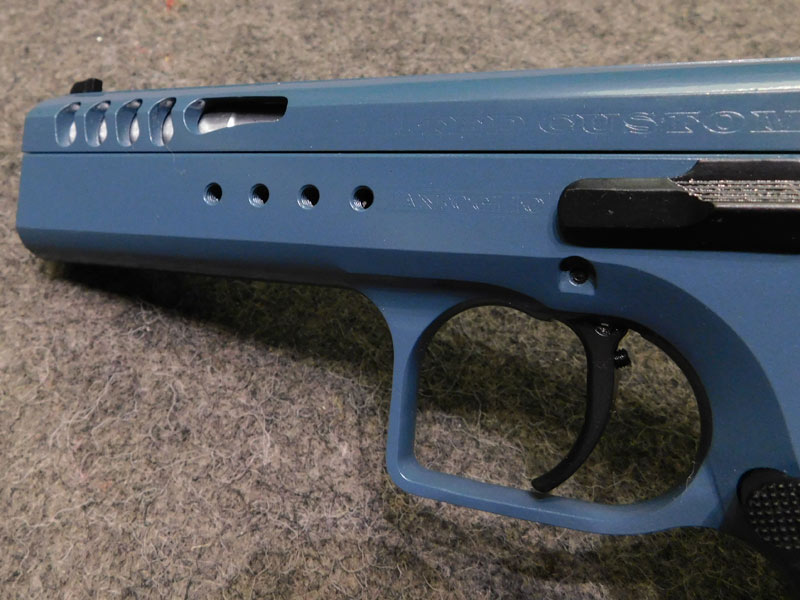 pistola Tanfoglio Limited Custom Ottanio