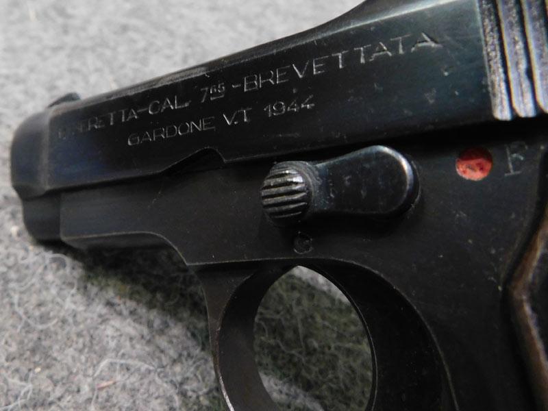 pistola Beretta 35 R.S.I. calibro 7.65