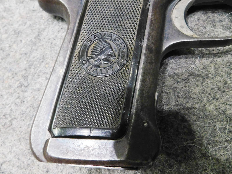 pistola Savage 1907 calibro 7.65