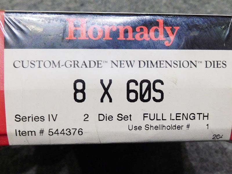 dies Hornady 8 x 60S