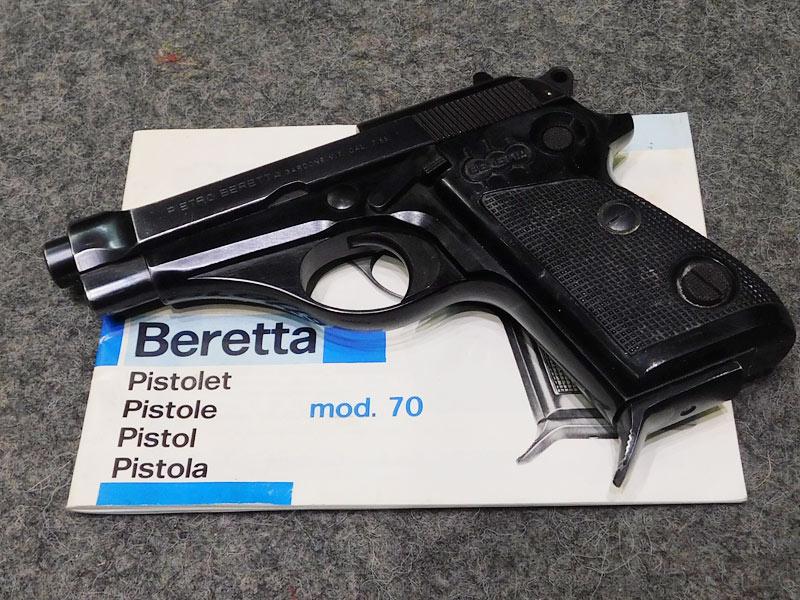 pistola Beretta 70 calibro 7.65
