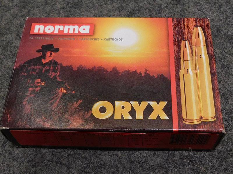 munizioni Norma Oryx