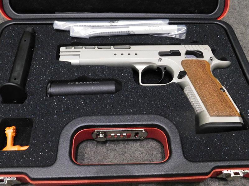 pistola Tanfoglio Gold Match calibro 9 x 21