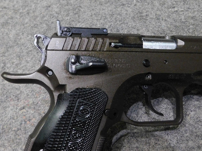 Pistola Tanfoglio Stock III Xtreme