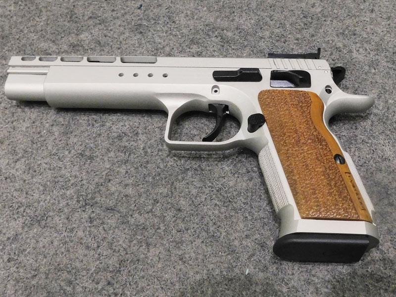 Pistola Tanfoglio Gold Match 45 acp