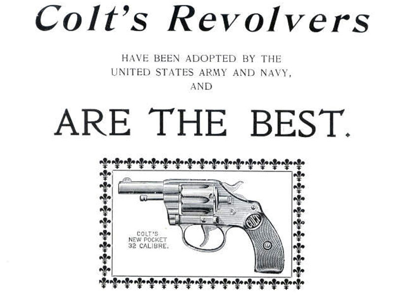 Revolver Colt New Pocket