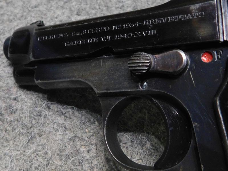 Pistola Beretta 34 anno 1940
