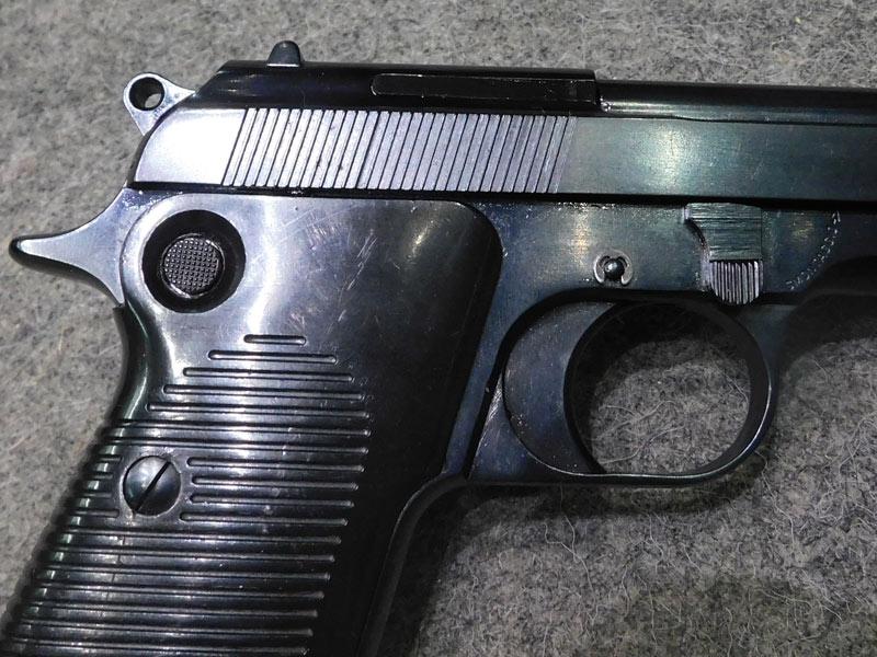 Pistola Beretta 952 calibro 7,65 para