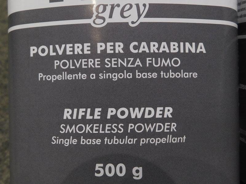 Polvere Fiocchi Frex Grey