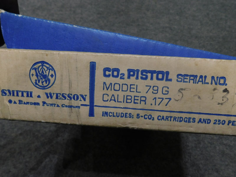Pistola Smith & Wesson 79G