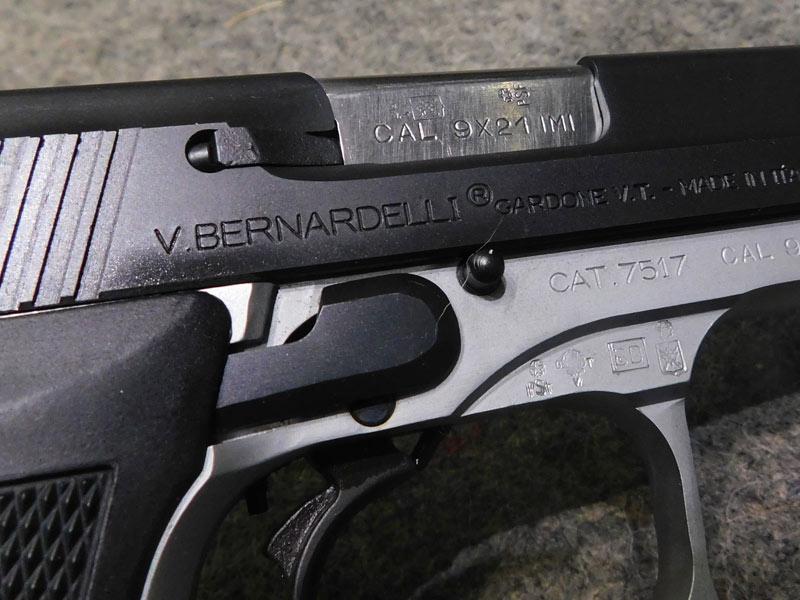 Pistola Bernardelli Practical calibro 9 x 21