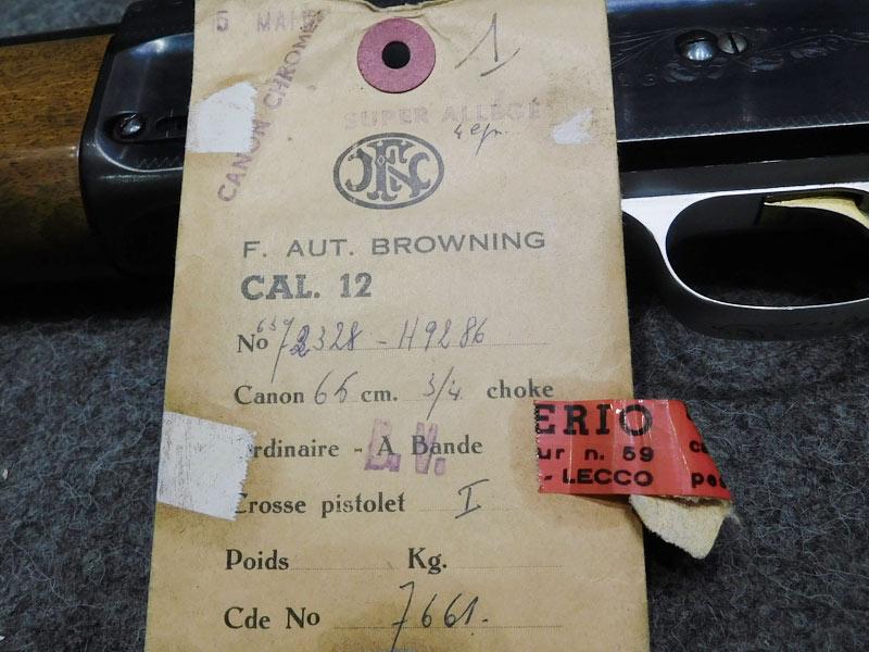 F.N. Browning Auto 5 Super Allegè calibro 12