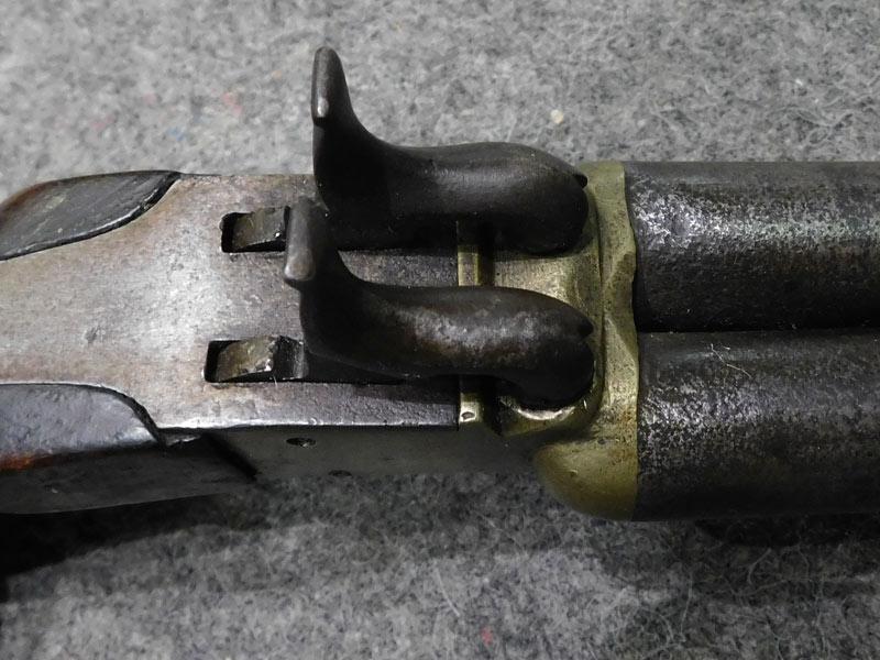 pistola francese Box Lock