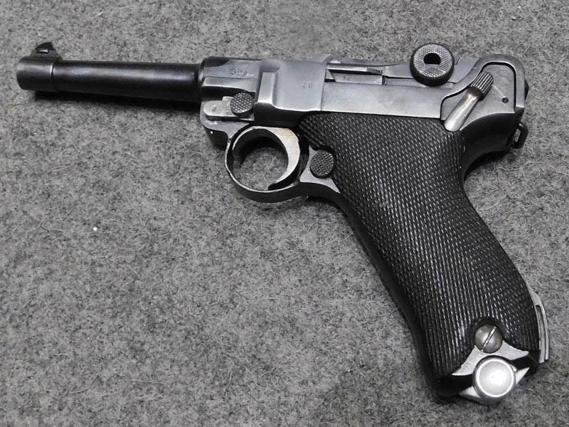 pistola DWM P08